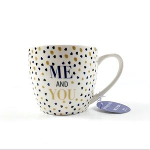 NWT Pimpernel Me And You Harts Mug